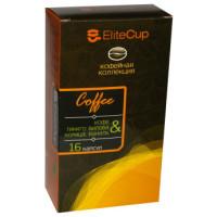 Капсулы EliteCup «Кофе - Гинкго билоба, корица и ваниль» (16 шт)