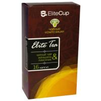 Капсулы EliteCup «Черный чай - Женьшень и лимонник» (16 шт)